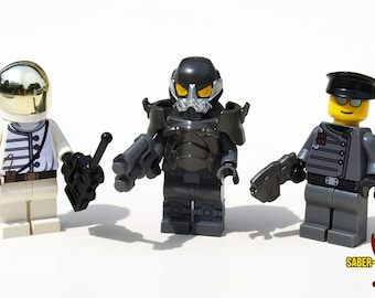 Custom Minifigure: Post-Apoc Government Agents