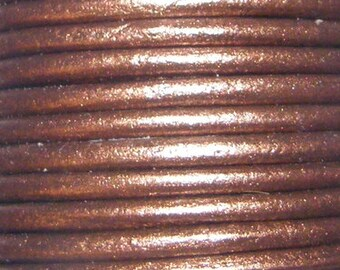 2mm Leather- Copper
