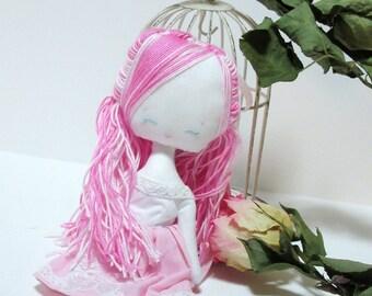Little Tenderness Heart , doll, original doll, plush girl