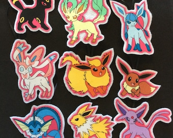 New Pokemon Ornaments-Set of 9-Pikachu