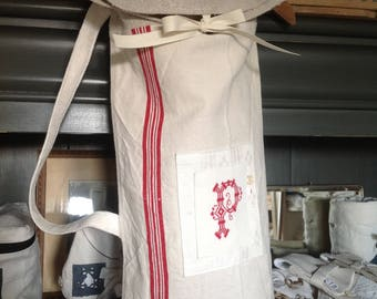 Bread made from old cloth and Monogram bag
