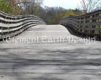 Bridge in the Woods, Instant Download, 11x14, Digital Printable, Fine Art Digital Photo, Photography, landscape