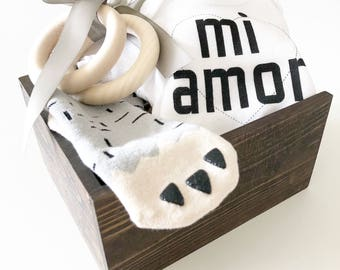 Monster Love \\ baby gift, gift, gifts, baby shower, mom gift, baby, Christmas gift, Christmas baby