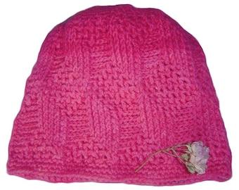 Crochet Cubes Hat PATTERN