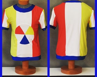 """MADE TO ORDER Katy Perry """"Beach Ball"""" Superbowl Costume Inspired T-shirt for Men"""