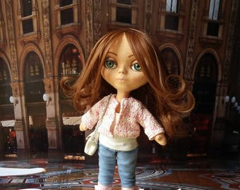 Sold! Textile doll / Interior doll / Handmade doll / OOAK doll
