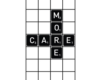 Care More Wall Decal