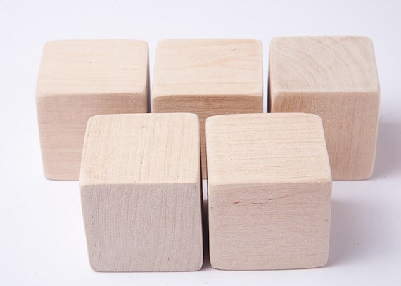 1 3 4 inch 4 5 cm unfinished wood blocks for wood crafts for Unfinished wood pieces for crafts