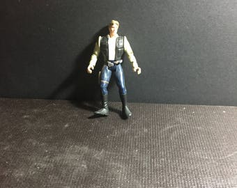 1995 Power of the Force Star Wars Vintage Hasbro Han Solo - A New Hope Star Wars Loose Figure Lot 2
