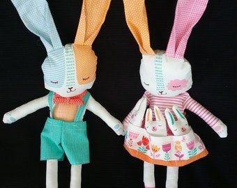 Bunny Rabbit Family stuffed animals
