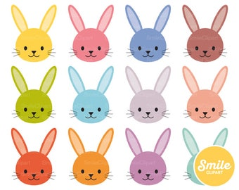 Bunny Clipart Illustration for Commercial Use | 0522