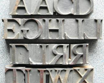 """1-5/8"""" Letterpress Print Blocks  OL"""