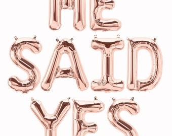 Gay 'HE SAID YES' Greetings Card