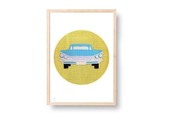HotRod Art Print (free Aus Shipping)