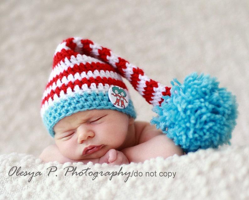 Download Pdf Crochet Pattern 054 Stocking Hat Multiple