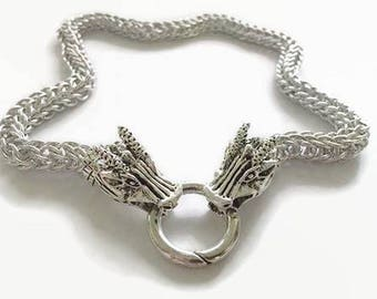 Dragon Head Necklace
