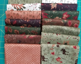 RARE Trails End Collection by Holly Taylor for Moda Fabrics. 16 - HALF Yard Cuts