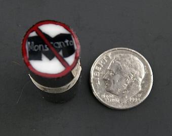 Anti-Monsanto Murrine Boro Cane 12 grams - 114 T