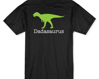 Dadasaurus Cool Fathers Day Men's T-shirt