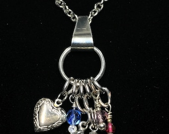 Dog Lover Charm Necklace (Handcrafted)