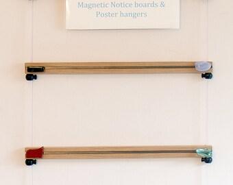 Notice board & Magnetic hanger set (M 45cm width)