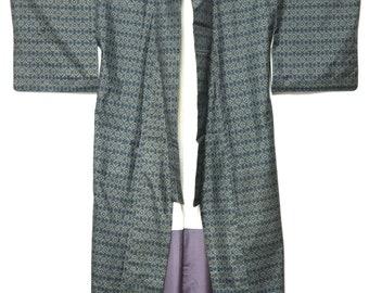 KIMONO Japanese Vintage silk kimono / kimono noragi