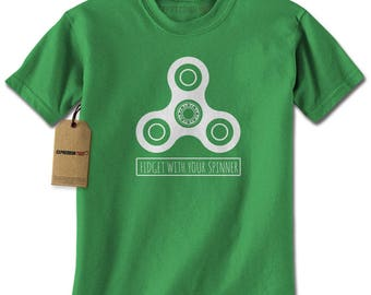 Fidget With Your Spinner Mens T-shirt