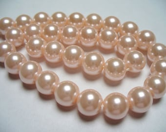 Glass Pearl Pink 8MM