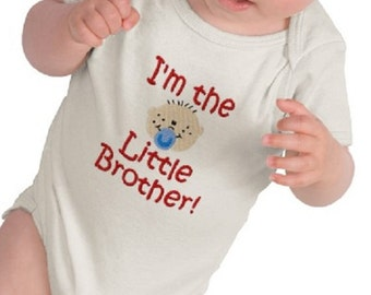 Little Brother - Graphic Tee - Baby Bodysuit - Short Sleeve Cotton