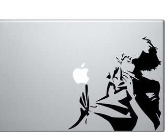 Cowboy Bebop Spike Vinyl Decal for Macbook/Car