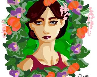 Flowers - A6 Print