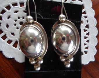 Artisan Heavy Sterling Silver Earrings 20 g