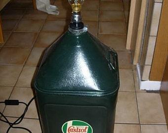 amazing castrol oil can light