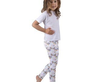 Sleeping Unicorn Kids leggings - Toddler Leggings, Girls Leggings, Cute Leggings, Fun Leggings, Cute Leggings Girl, Leggings For Girls