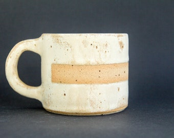 Handmade coffee mug, ceramic mug, pottery mug