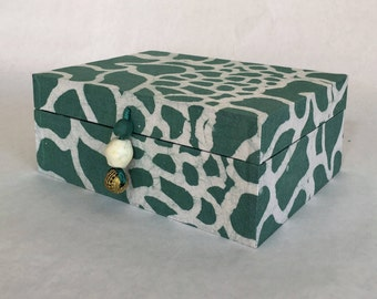Authentic Ghanaian hand-made gift box