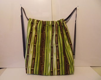 Tote bag - backpack - bamboo