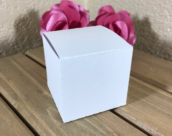 Package of Small Favor Boxes - Great For Wedding Shower, Baby Shower