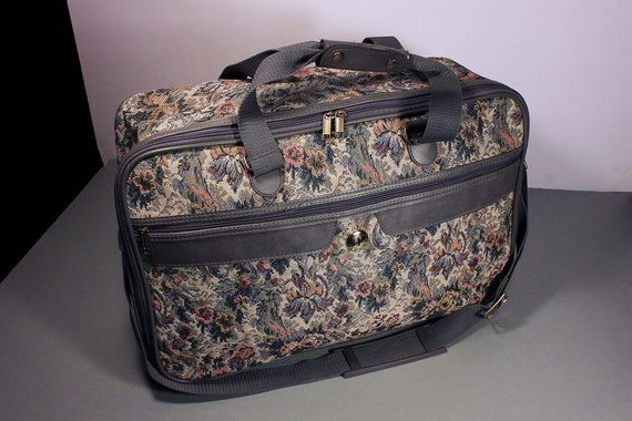 Jaguar Luggage, Tapestry Bag, Carry-on Bag, Overnight Bag, Travel Bag, Weekender, Soft Cover Bag, Luggage, Shoulder Strap