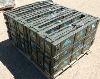 30 caliber AMMO CAN -  USA made, Military surplus, Excellent condition