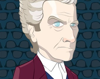 The 12th Doctor - Peter Capaldi