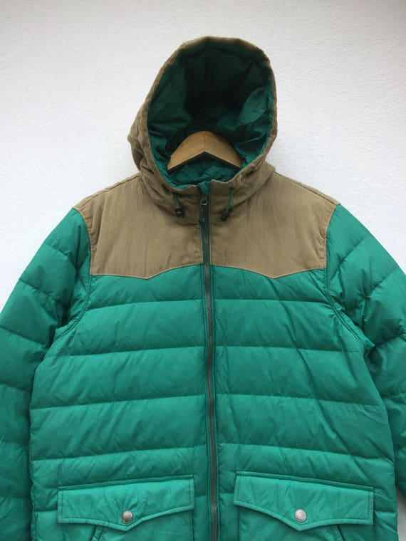 Puffing Vintage 90s Hooded Winterwear Levi's Down Jacket Sweater Sportwear Size Large 646gTnx
