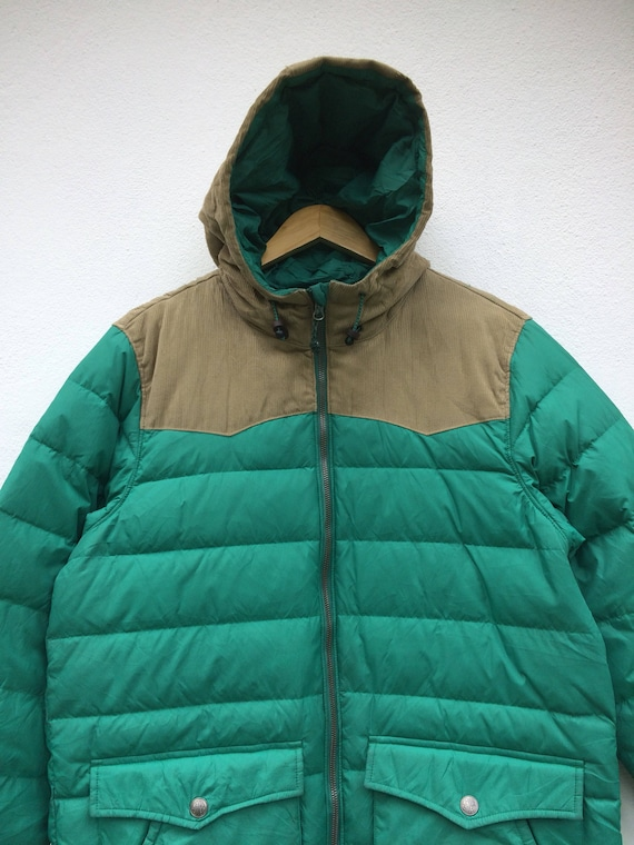 Puffing Winterwear Levi's Sweater Sportwear Size Hooded Down 90s Jacket Large Vintage caWtg0yp6