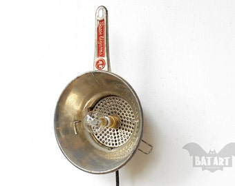 Mill Grinder Wall and Table lamp - Wall Lighting - Interior Design - Lighting Fixture - Mill Grater - Kitchen Light - E14 metal lamp holder
