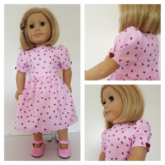 18 Inch American Made Heart Doll Dress