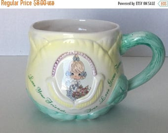 Sale Vintage Precious Moments Coffee Mug Coffee Cup Friend Coffee Cup Enesco 1996