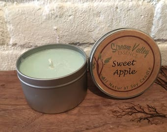 100% Soy Candle **Sweey Apple**