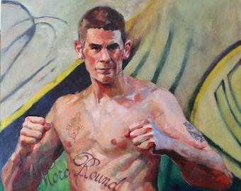 Custom Portrait of Boxer or Athlete from Your Favorite Photo