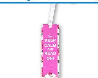 1 Keep Calm and Read On Bookmark