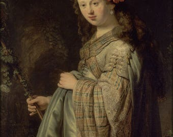 Poster, Many Sizes Available; Flora By Rembrandt